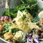 Rehab Hackney review - vegan friendly restaurants in London - Mexican bowl