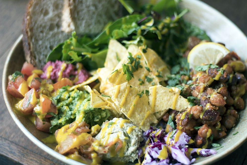 Rehab Hackney review - vegan friendly restaurants in London - Mexican bowl
