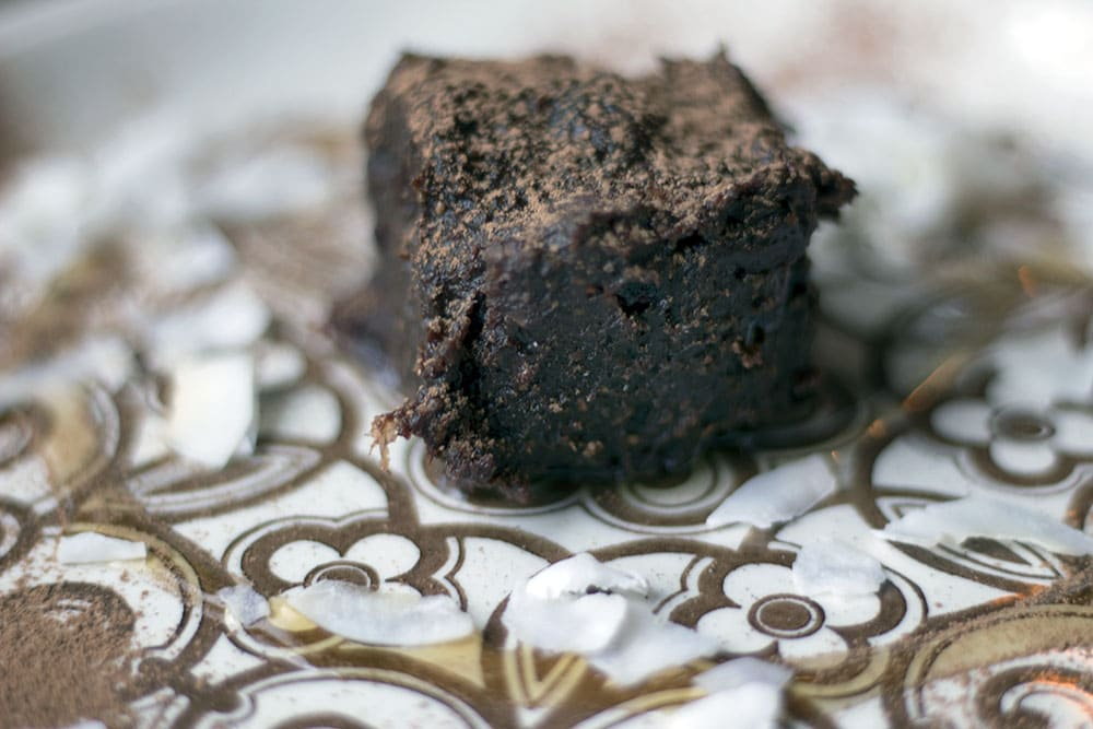 Raw brownie Rehab Hackney review - vegan friendly restaurants in London