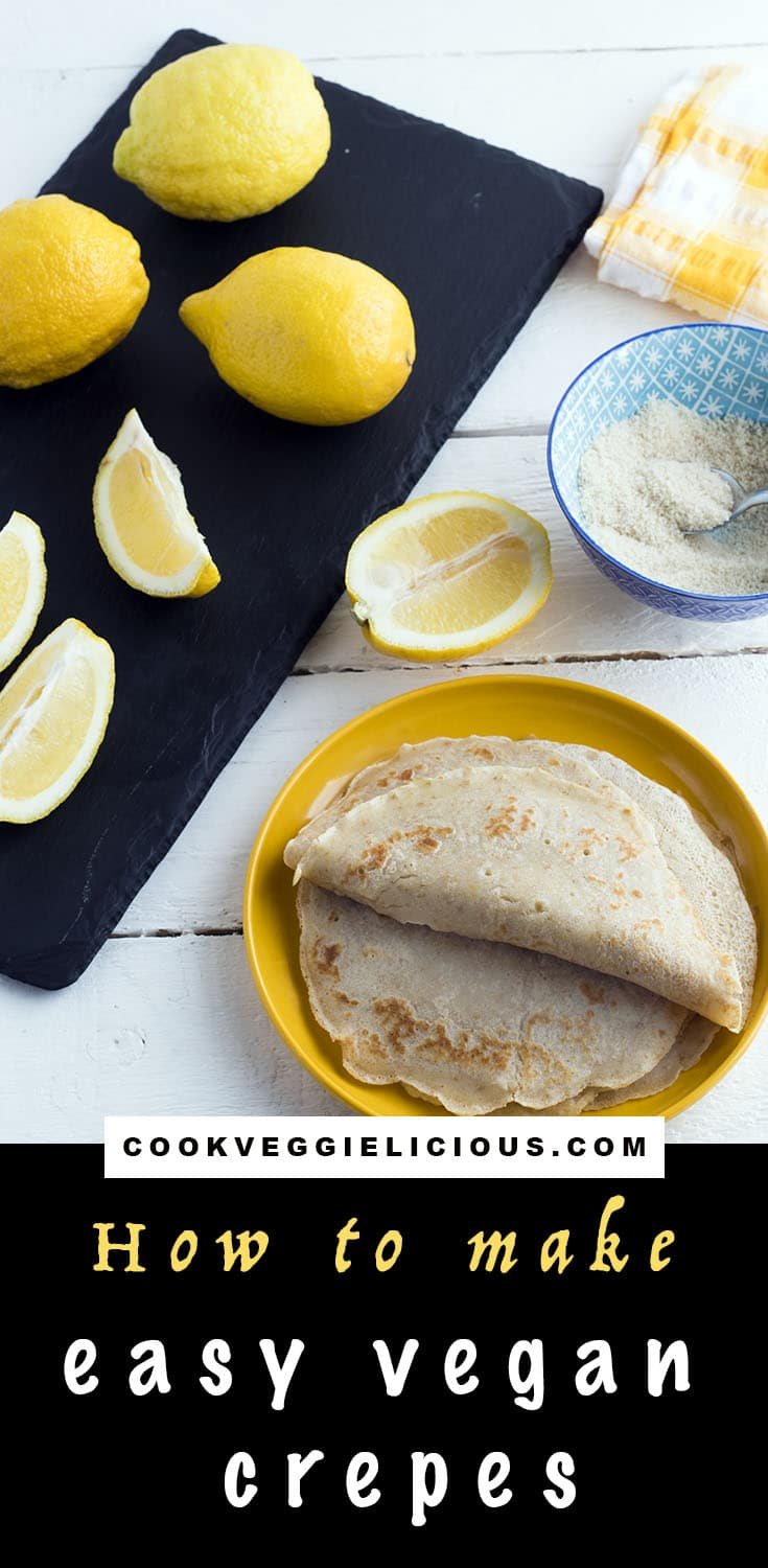 how to make vegan crepes