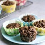 leftover mashed potato chocolate muffins