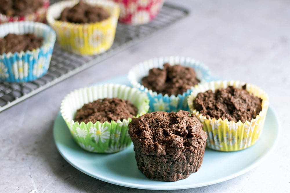 leftover mashed potato chocolate muffins
