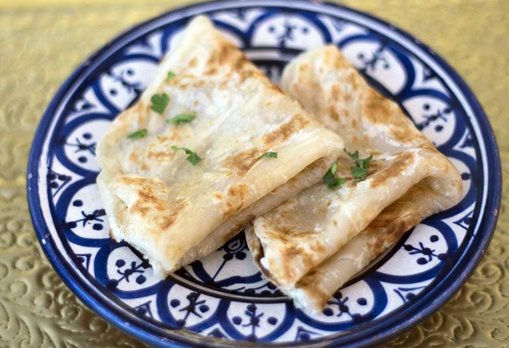 Moroccan ghife bread at Comptoir V