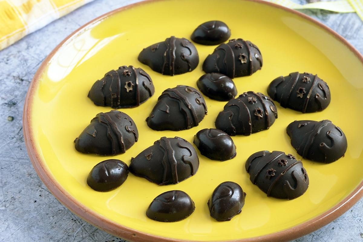 homemade vegan chocolate