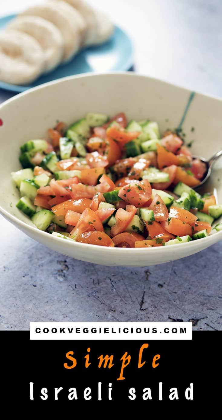 simple israeli salad recipe