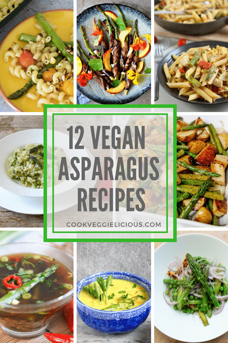 Best vegan asparagus recipes Cook Veggielicious
