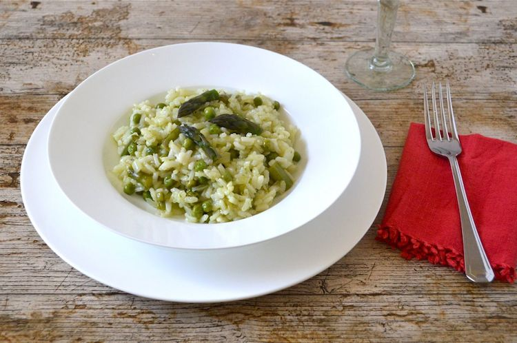 cornish asparagus risotto - vegan asparagus recipes
