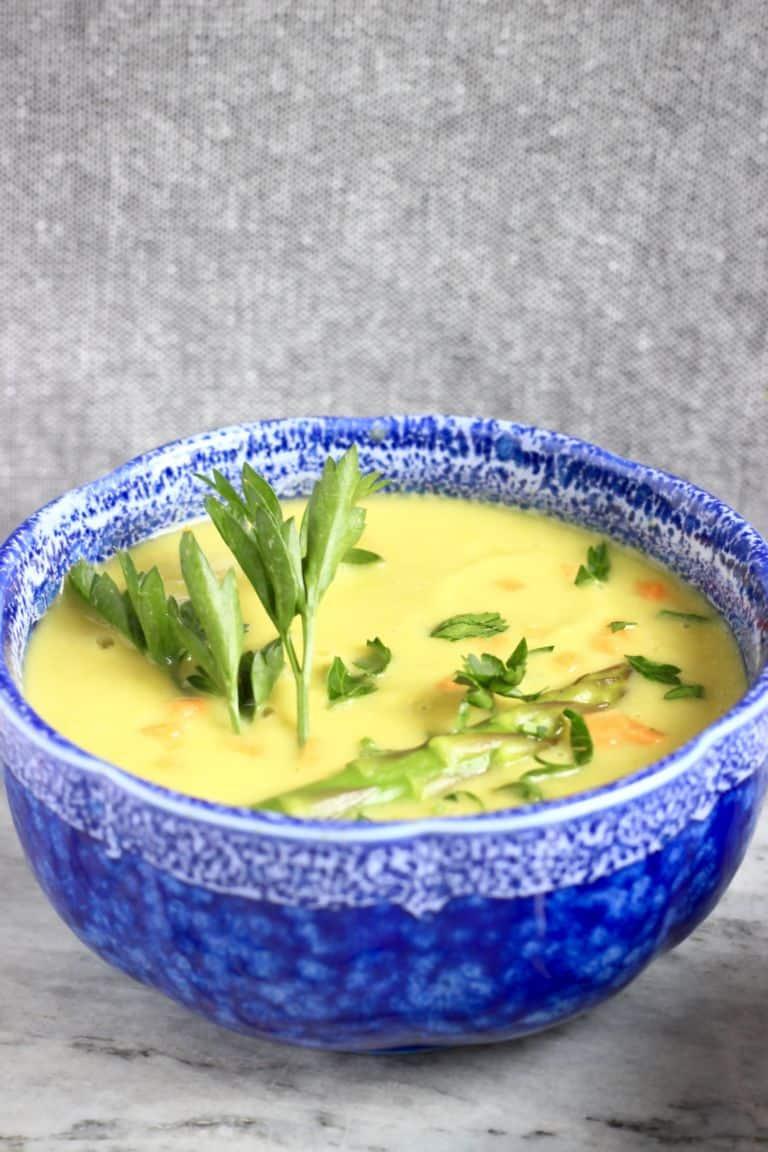 cream of asparagus soup - vegan asparagus recipes