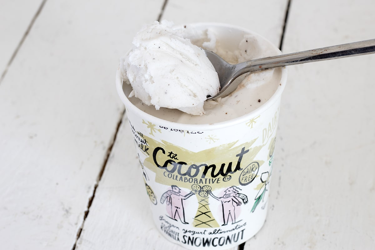 best vegan ice cream coconut collaborative vanilla snowconut