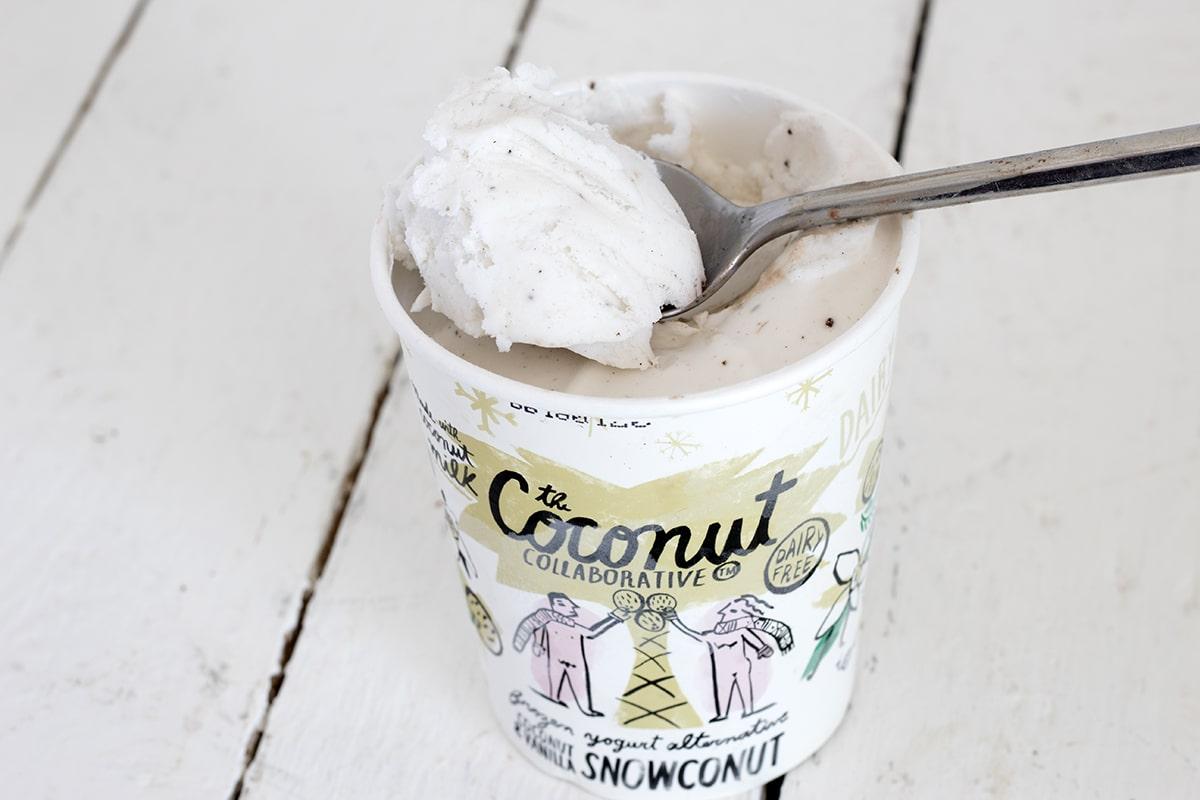 best vegan ice cream coconut collaborative vanilla snowconut