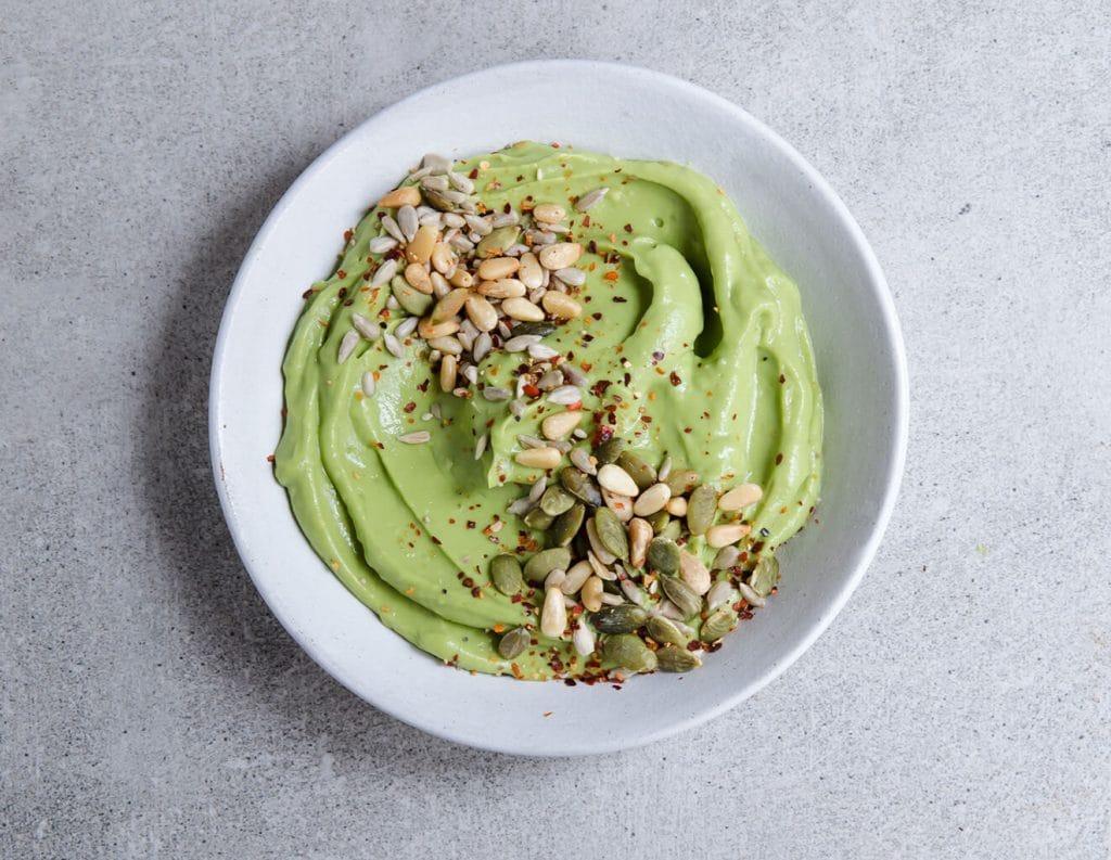 vegan picnics - avocado cream by modern food stories