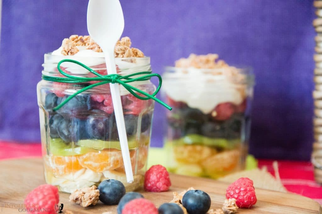 rainbow fruit salad by intolerant gourmand - vegan picnics