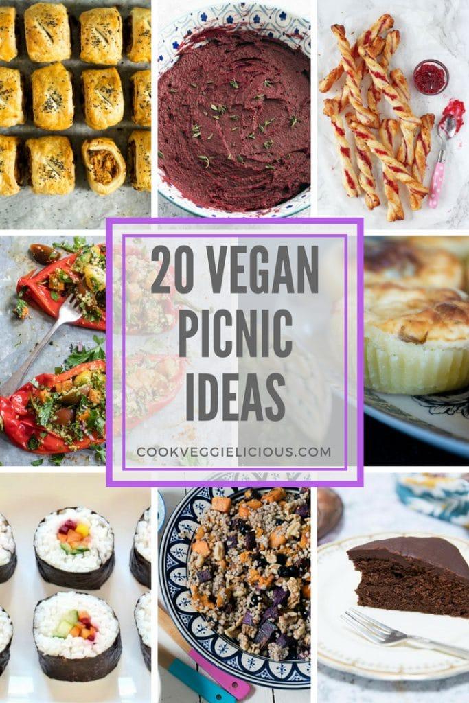 vegan picnic ideas - cook veggielicious
