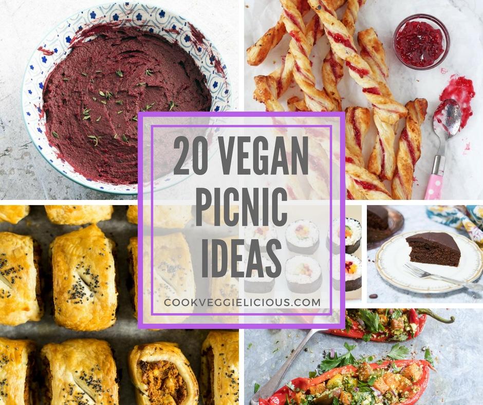 20 vegan picnic recipes - Cook Veggielicious