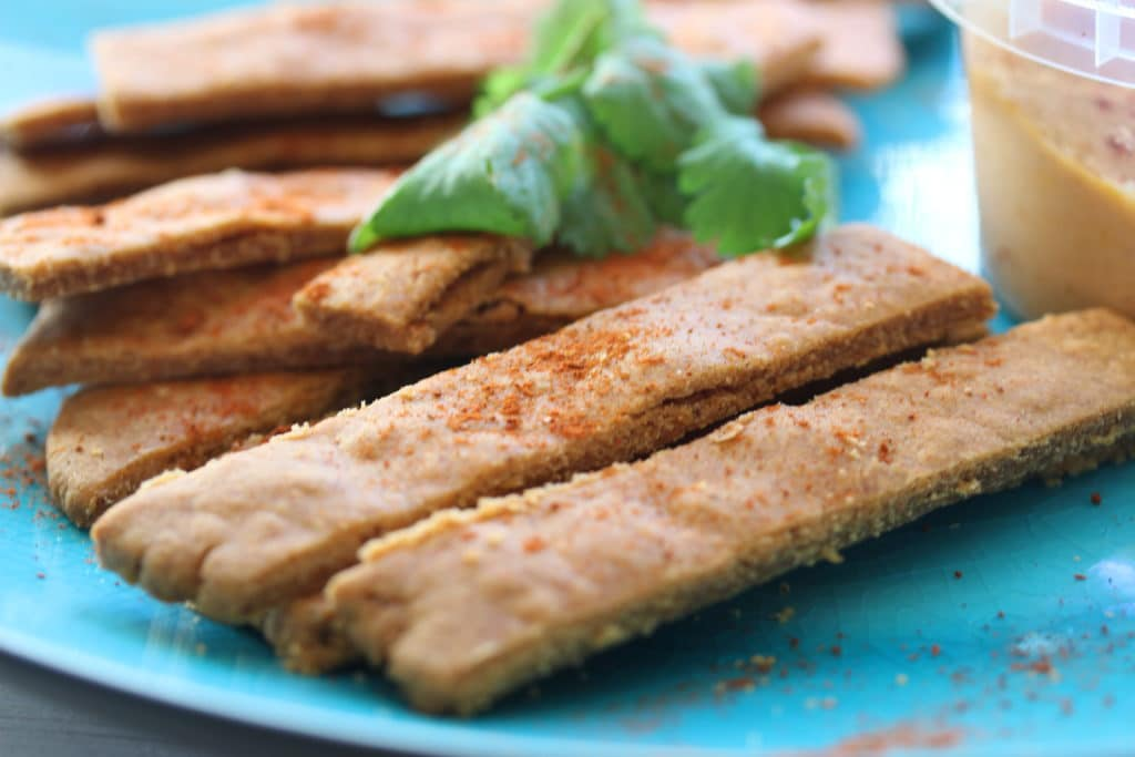 vegan cheese crackers by Free From Fairy vegan picnic recipes