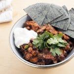 the best vegan chilli recipe by Cook Veggielicious