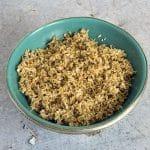 vegan coconut sambol recipe by Cook Veggielicious