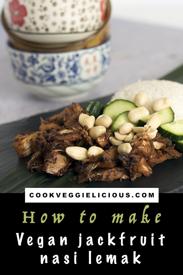 vegan jackfruit nasi lemak recipe