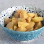 easy spiced quince compote recipe by Cook Veggielicious