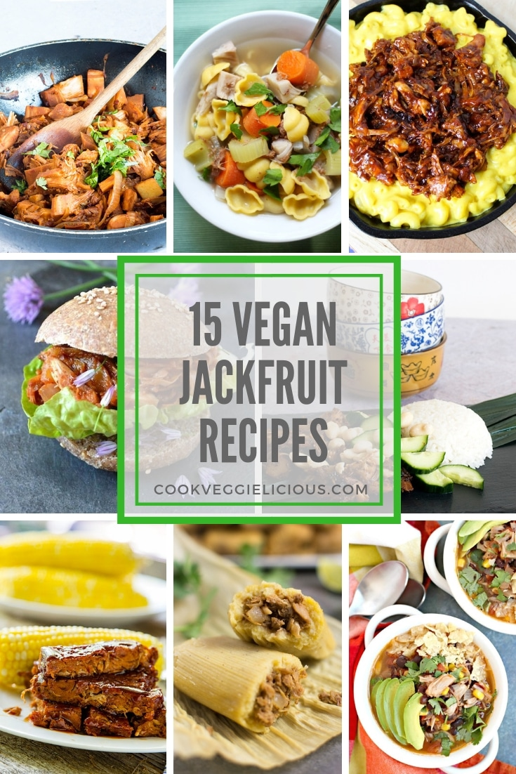 20 vegan jackfruit recipes