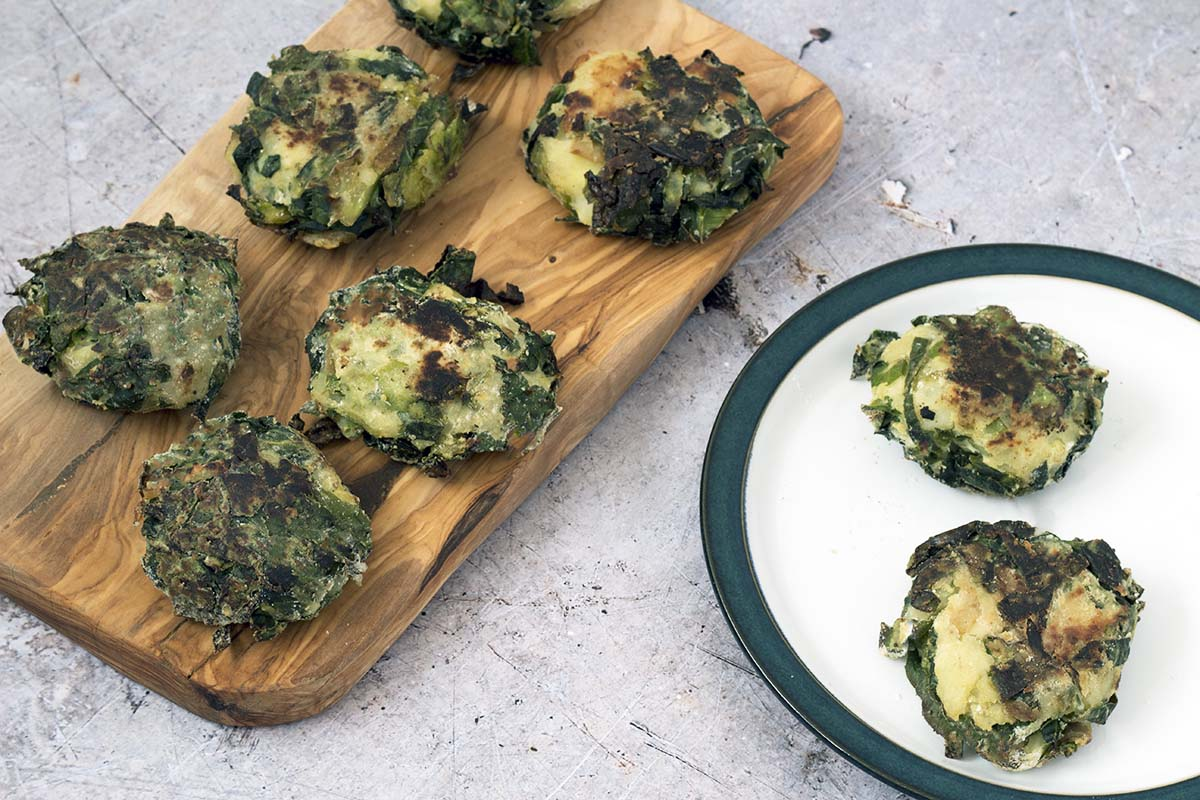 Bubble and squeak cakes by Sneaky Veg
