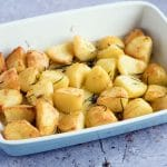 rosemary roast potatoes vegan recipe by Cook Veggielicious
