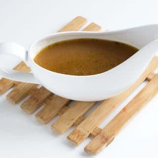 the best vegan gravy recipe by Cook Veggielicious