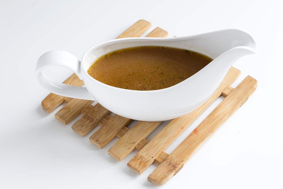 the best vegan gravy recipe by Cook Veggielicious