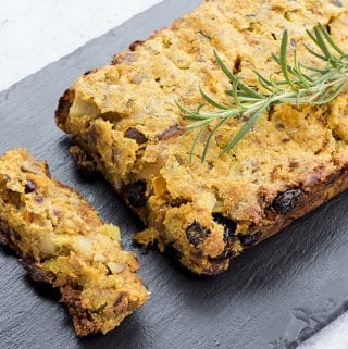chestnut and cranberry vegan nut roast