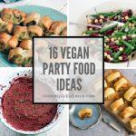 Vegan party food ideas
