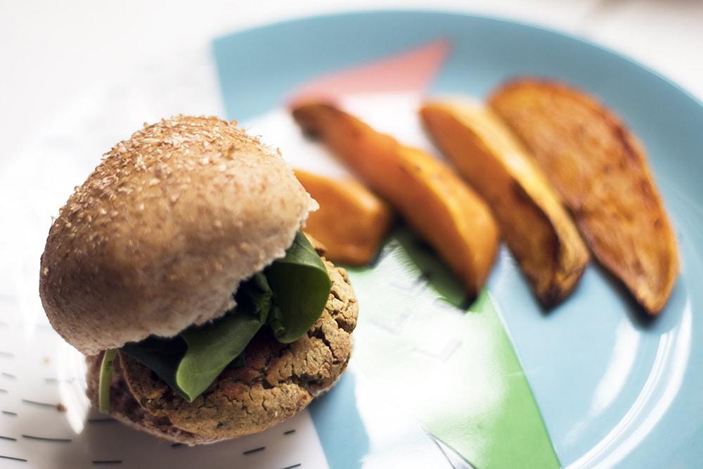 Sneaky Veg falafel sliders - vegan party food