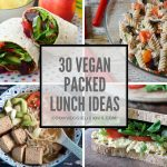 30 vegan packed lunch ideas - Cook Veggielicious