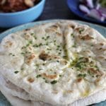 easy homemade vegan flatbreads by Cook Veggielicious