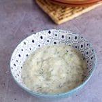 vegan tzatziki recipe by Cook Veggielicious