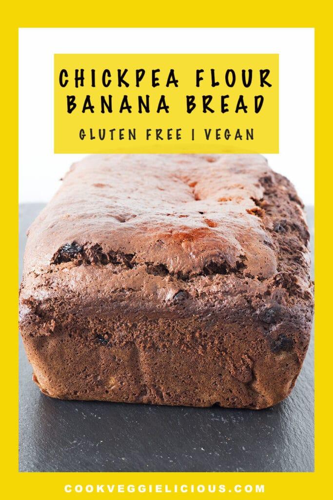 chickpea flour banana bread